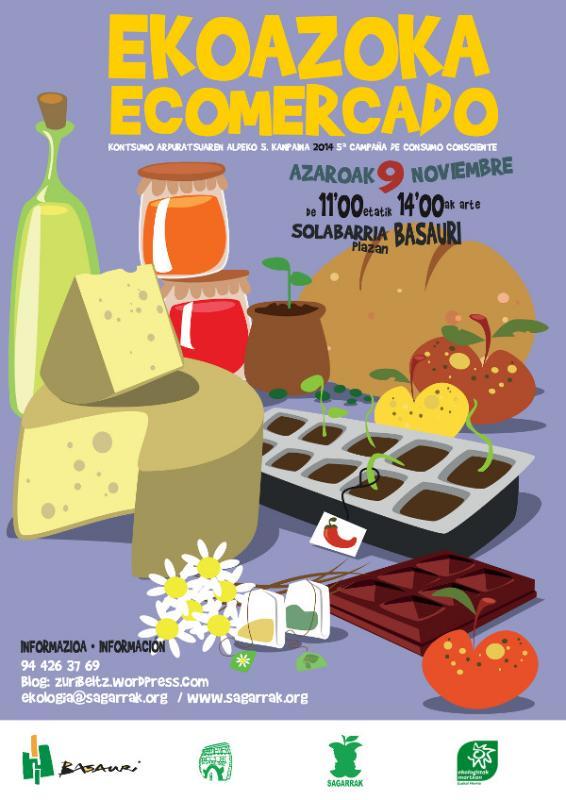 Ekoazoka-Ecomercado Basauri 9 de noviembre de 2014