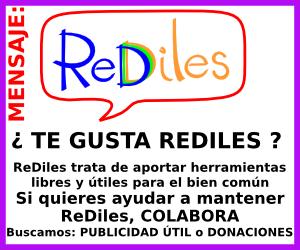 Pincha para ver cómo colaborar con ReDiles: publicidad útil o donaciones