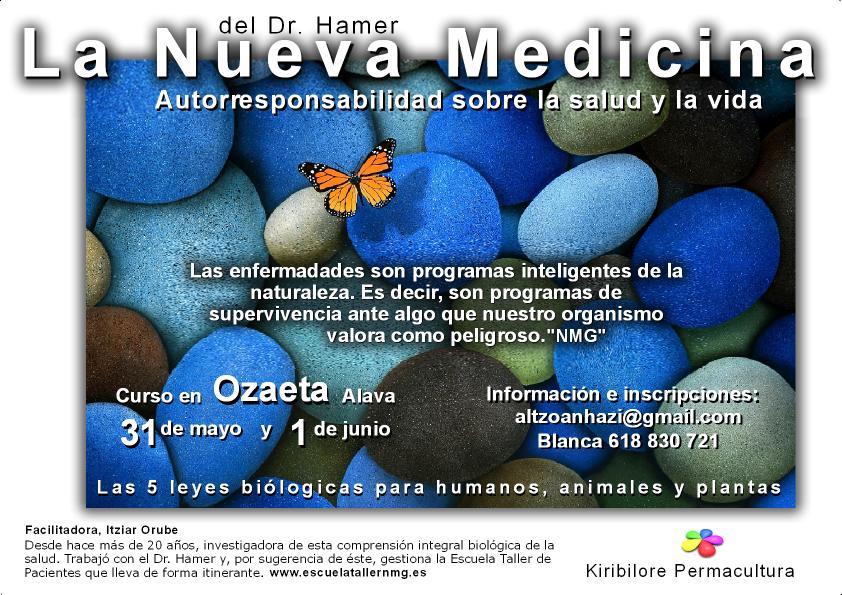 cartel La Nueva Medicina
