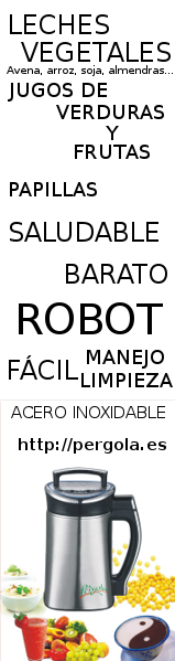jarra robot leche vegetal pergola