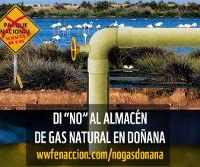 Doñana no almacen de gas